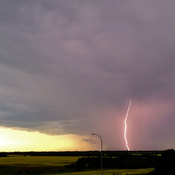 Sylvan Lake Lightning