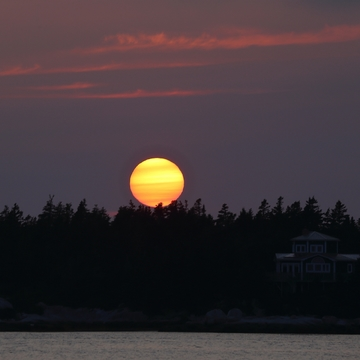 Sunset Over Terence Bay