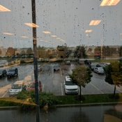 Rain at the office