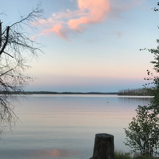 Waden bay La Ronge, Saskatchewan, CA