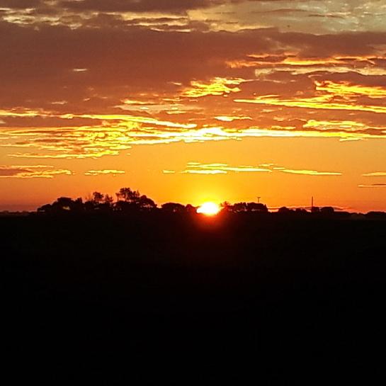 sunrise from allan Allan, SK