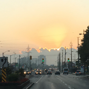 Sunrise over Etobicoke