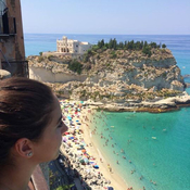 Enjoying the day in beautiful Tropea 🇮🇹