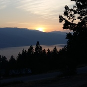 Okanagan Lake from my deck