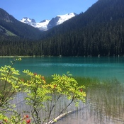 Beautiful day at Joffre Lake