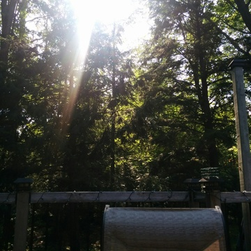 Beautiful afternoon lounging on the deck.