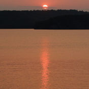 Sunset on Lake Dubourne