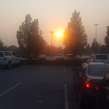 Sunset from Coquitlam Center