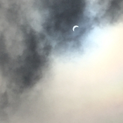 Eclipse from Whitecourt, Ab