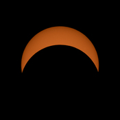 75% partial eclipse in Bayfield
