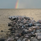 Winnipeg Beach Rainbow