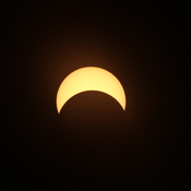 Eclipse as seen in Dorval