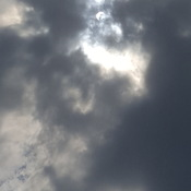partial eclipse over london