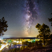 Milky Way Over Westport Ontario