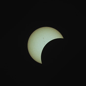 The Eclipse from Belleville, Ontario