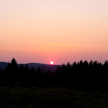 Shrine Hill Sunset, Wilno Ontario Canada