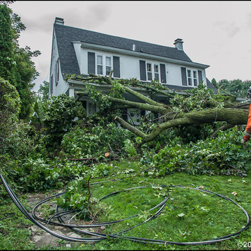 95,000 people in Montreal region without electicity from devastating storm