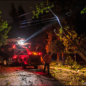 Precarious cleanup after severe storm leaves 95,000 Montrealers without power