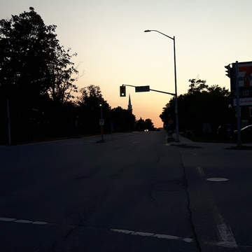 Sunrise in Orangeville