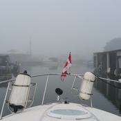 Heading out into the fog