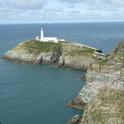 South Stack Lighthouse, Holyhead, Anglesey, North Wales, U.K.