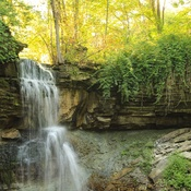 waterfall in Owen sound