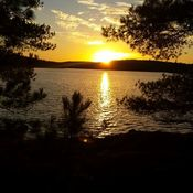 Olive Lake Sunset