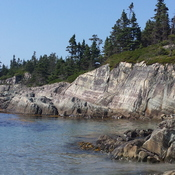 Shoreline of Cape Lahave Island
