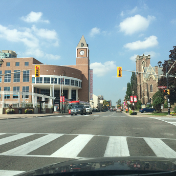 Brampton downtown