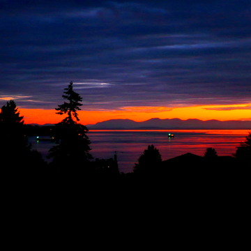WEST VANCOUVER SUNSET - September 21, 2017