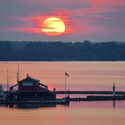 MYERS PIER BELLEVILLE SUNRISE