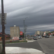 Portage avenue before the storm