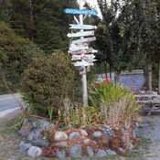 sign post in Port Renfrew