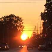 Sunset in Welland