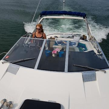 cruising on lake Simcoe