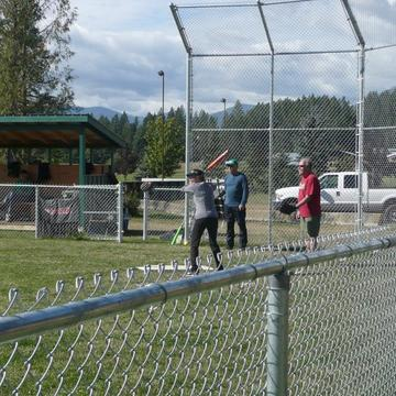 COFFIN DODGERS SOFTBALL WINDUP