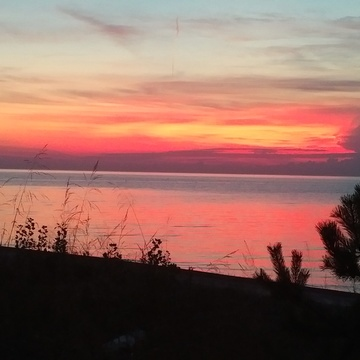Gorgeous Lake Huron sunset