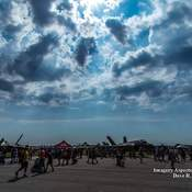 Heat wave at the 2017 London airshow