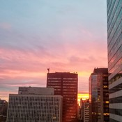 Downtown Edmonton Sunset