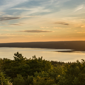 Sunrise at Kelley's Mountain in Cape Breton, Nova Scotia