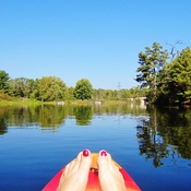 Kayaking ....Just let the River take you were it may