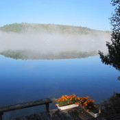 Lac Labelle, QC, in the morning