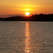 sunset at the merb...pictou county