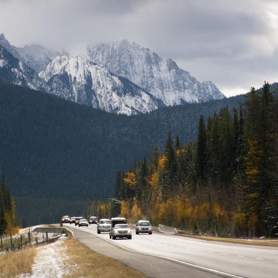 Autumn Banff, AB