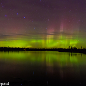 northern lights @ kent lake nb
