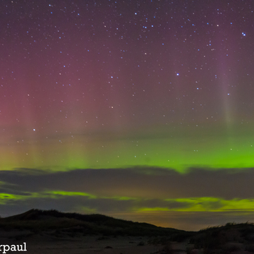 northern lights @ richibucto dunes north side