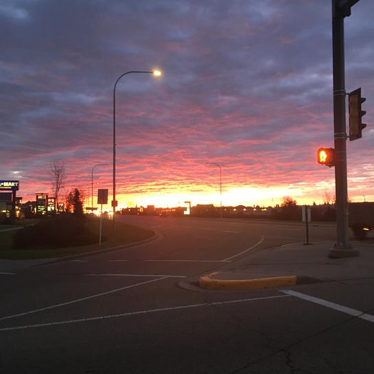 Camrose Sunrise Camrose, Alberta, CA