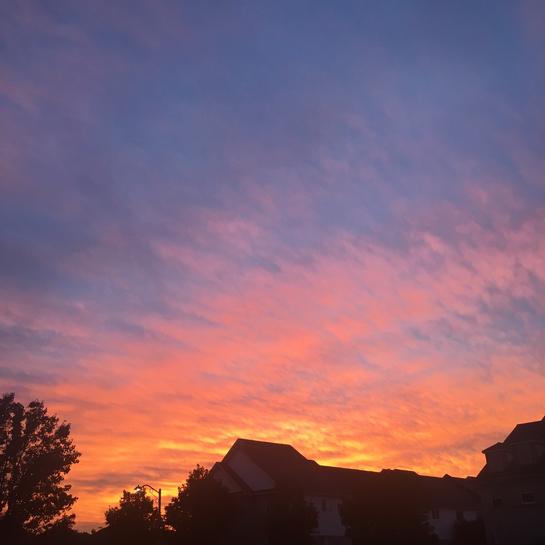 October 8th Sky in Oakville Oakville, Ontario, CA