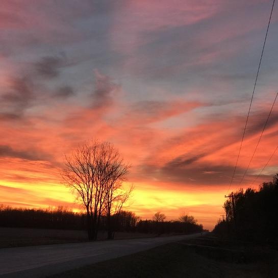 Sunset Manitoba Rockwood, Manitoba, CA