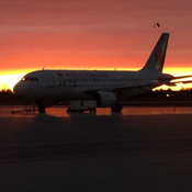 Good morning from Ottawa int airport!